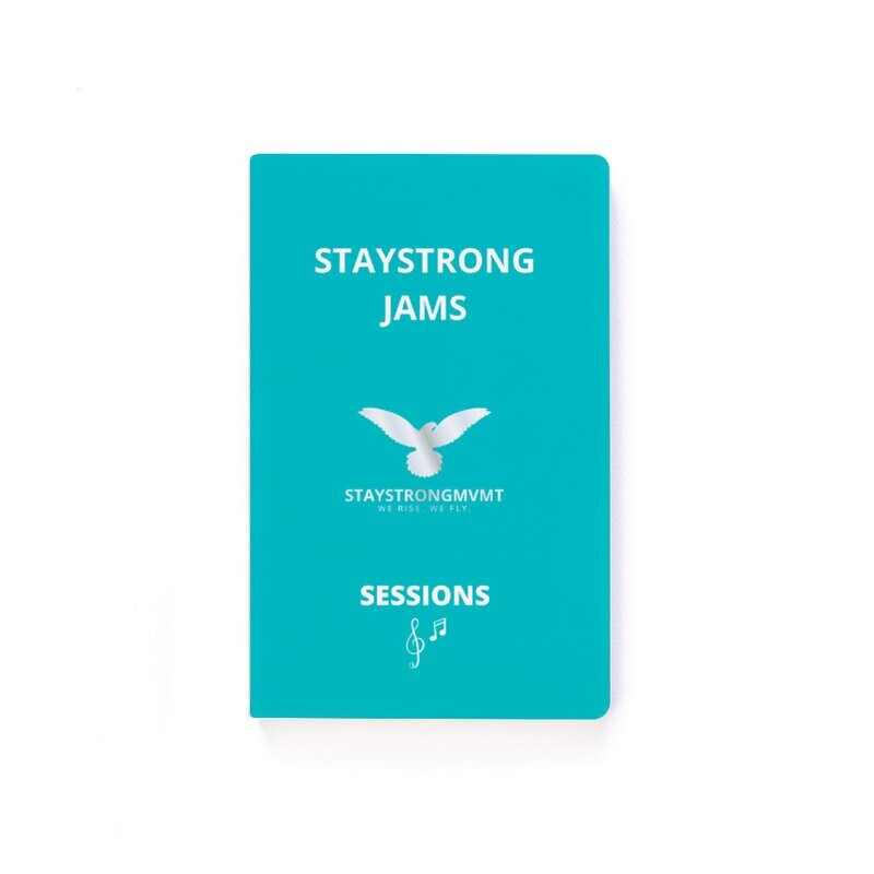 StayStrong Jams-Notebook