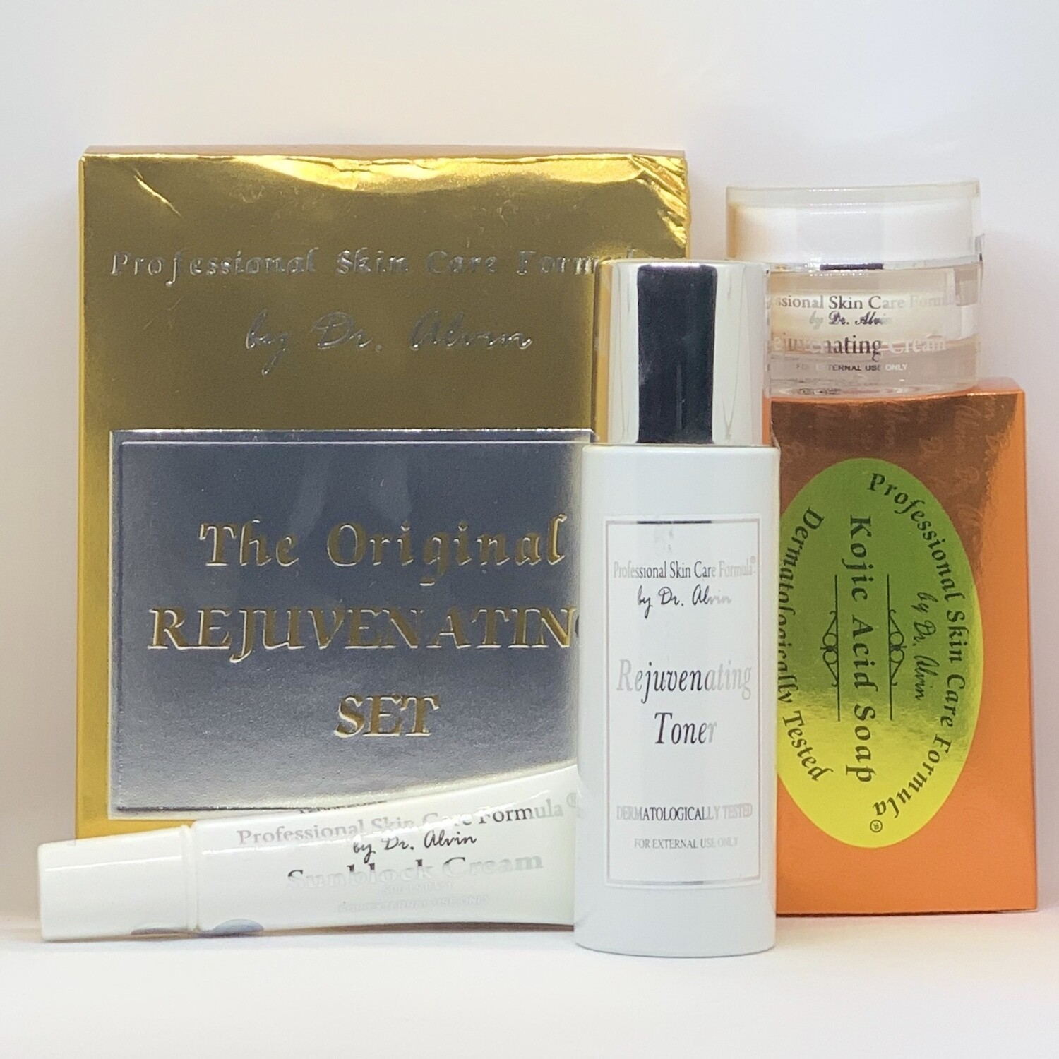 Rejuvenating Set Professional Skin Care Formula By Dr Alvin