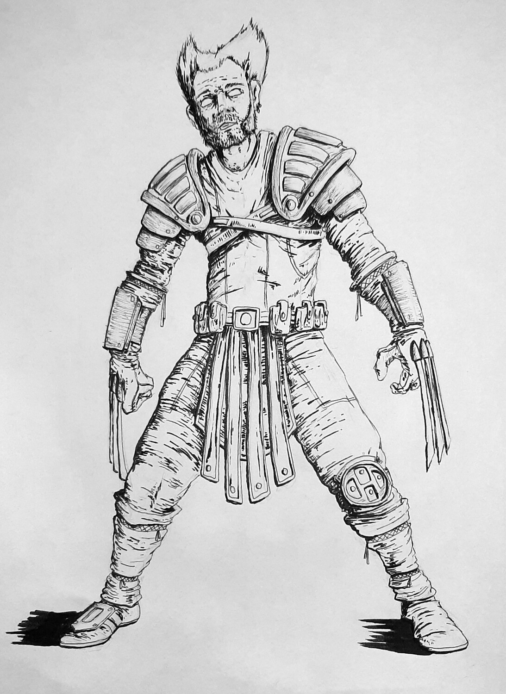 Wolverine (original print)