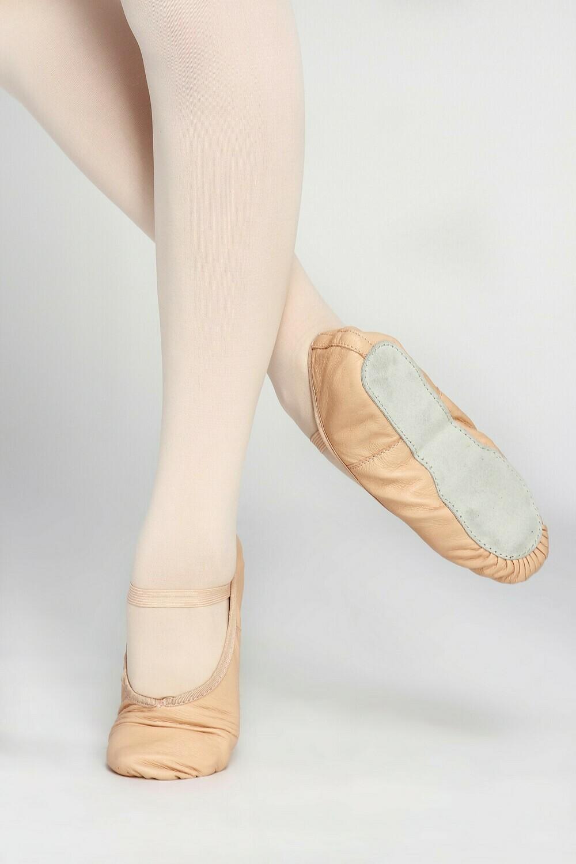Leather Full Sole Ballet Slipper