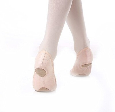 Stretch Canvas Split Sole Ballet Slippers