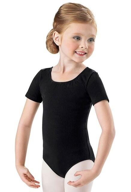 Children's Classic Short Sleeve Leotard