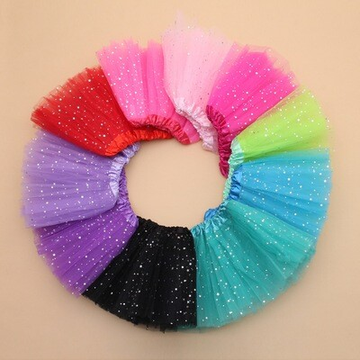 Children's Glitter Star Tutus