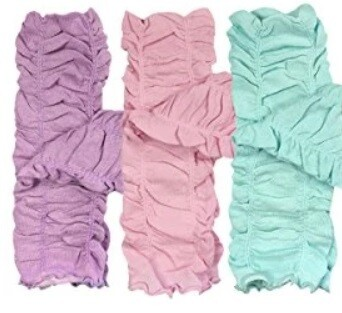 Children's Ruched Leg Warmers