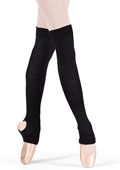 Adult Knit Stirrup Legwarmers