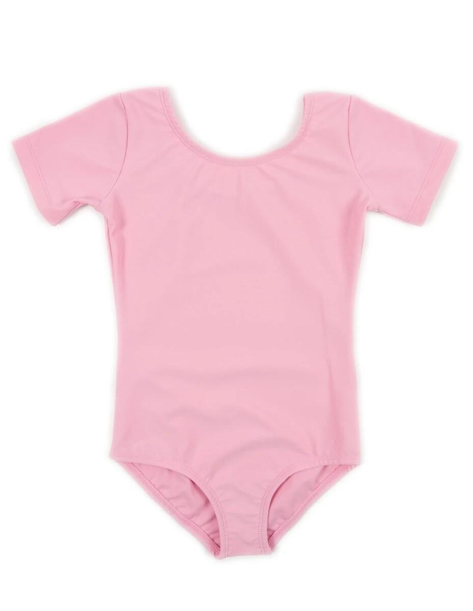 Clearance Children's Bubblegum Pink Short Sleeve Leotard *Final Sale