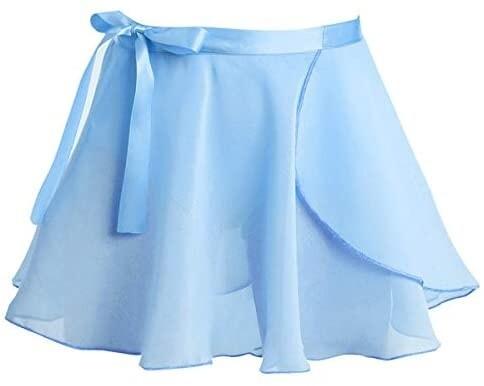 Clearance Children's Light Blue Wrap Skirt *Final Sale