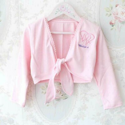 Clearance Children's Pink Tie Shrug *Final Sale
