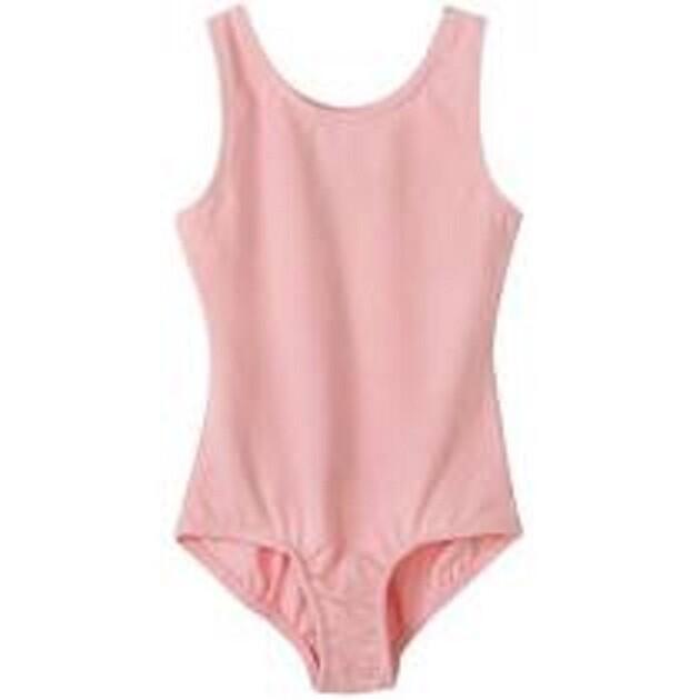 Clearance Children's Bubblegum Pink Tank Leotard *Final Sale