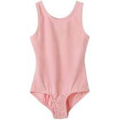 Clearance Children's Bubblegum Pink Tank Leotard *Final Sale