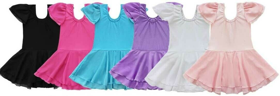 Clearance Children's Skirted Leotard *Final Sale