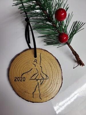 Handmade Dancer Ornament