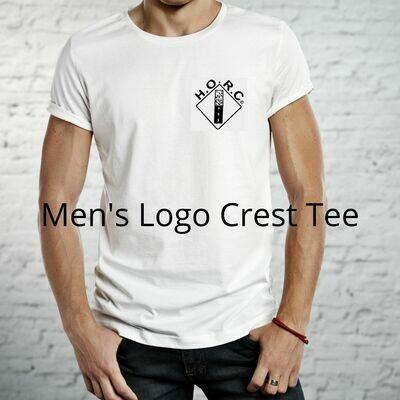HORC Men's Crew Neck Logo Crest Tee