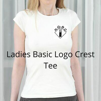 HORC Ladies Basic Logo Crest Tee