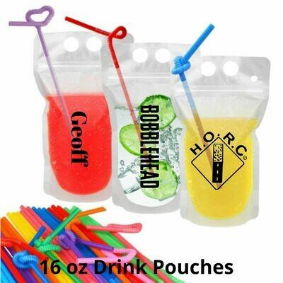 HORC 17 oz Logo Drink Pouch