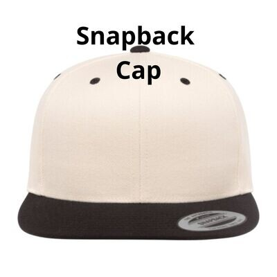 Blank Snapback Cap