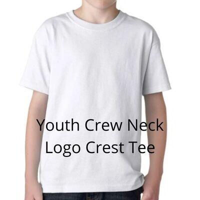 Blank Youth Crew Neck Tee