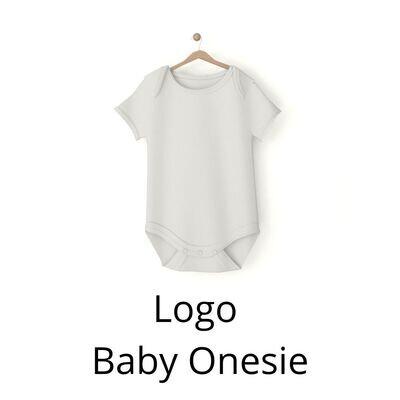 Blank Logo Baby Onesie