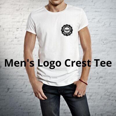 HAJC Men's Crew Neck Logo Crest Tee