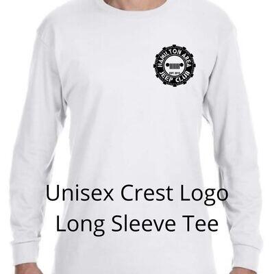 HAJC Unisex Long Sleeve Logo Crest Tee