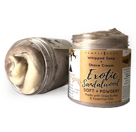 Exotic Sandalwood Whipped Soap