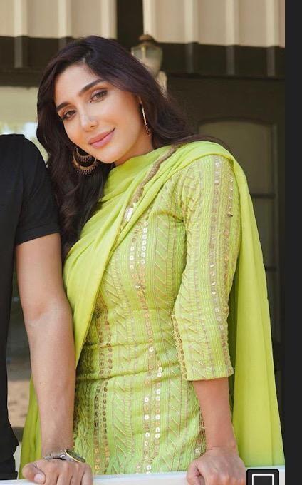 Green Punjabi Suit
