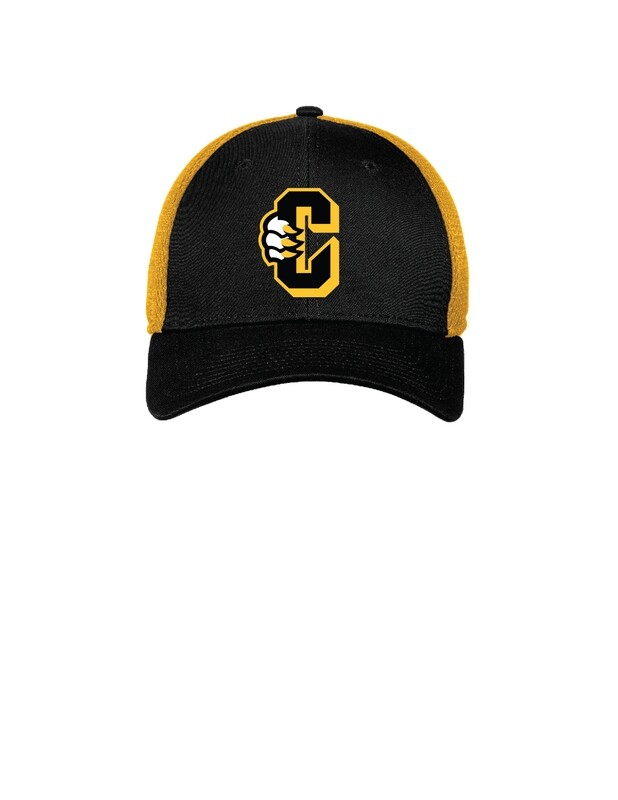 New Era Stretch Mesh C Logo Hat