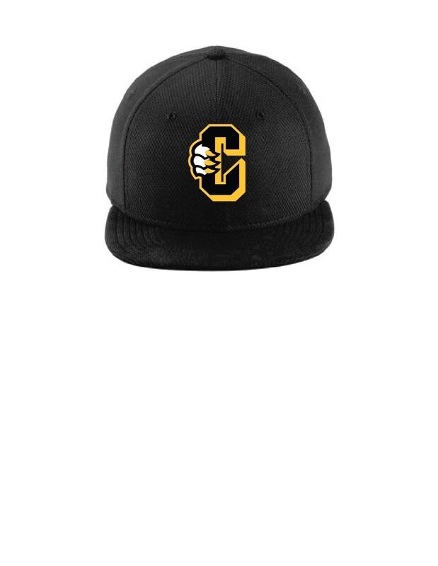 New Era Diamond Snapback C Logo Hat