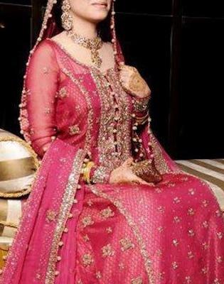 Pink Frock Lehenga For Western Yet Ethnic Wear