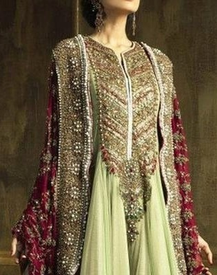 Sensational Full Flared Anarkali With Imperial Look Embroidery