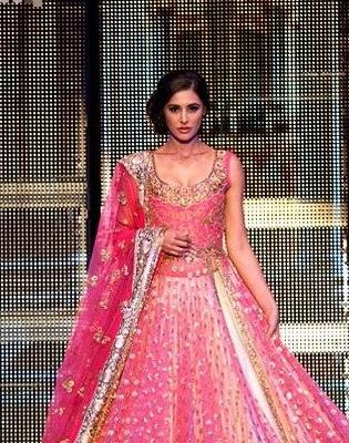 Perfect Pink For Western Yet Ethnic Wear