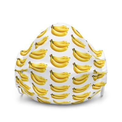 Yellow Bananas Premium face mask