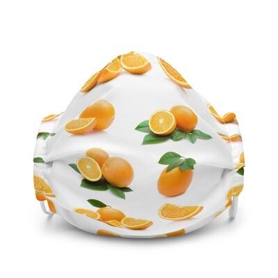 Orange Fruit Premium face mask