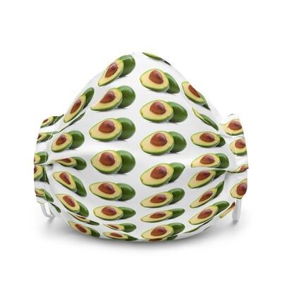 Avocado Guacamole Premium face mask