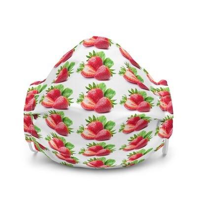 Strawberries bundle Premium face mask