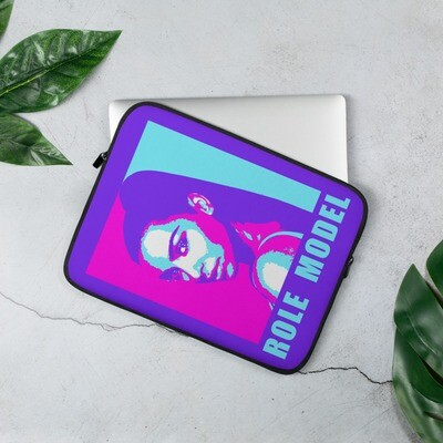 Fashionable Star Laptop Sleeve Purple and Pink Color