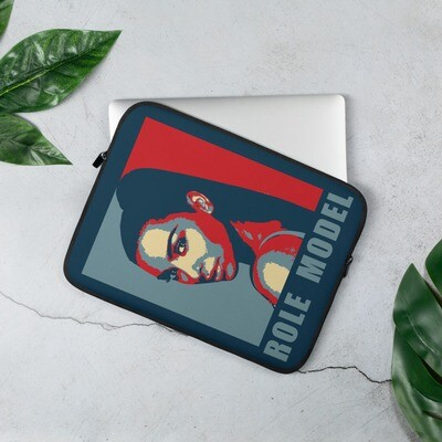 Fashionista Star Laptop Sleeve Blue and Red