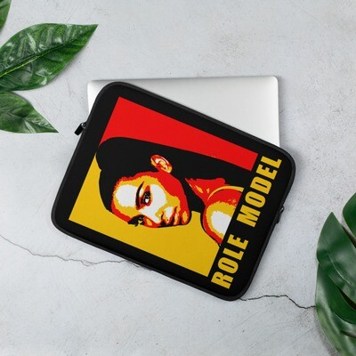 Cool Trendy Fashion Laptop Sleeve in Red Black & Yellow