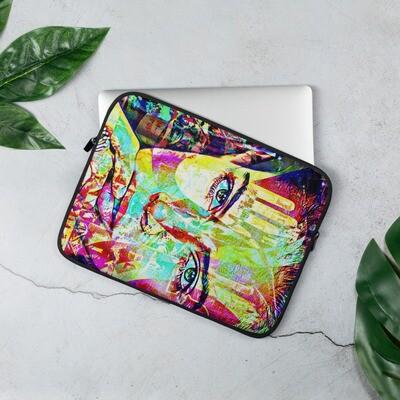 Graffiti Super Model Art Neoprene Laptop Sleeve
