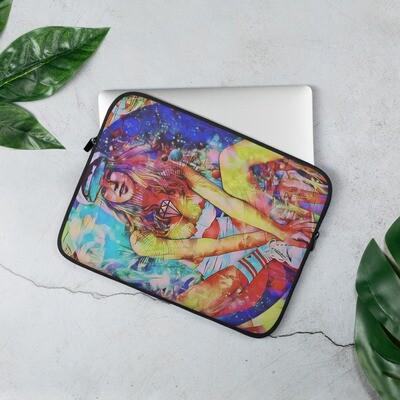 Fire Cool Graffiti Laptop Sleeve with Art