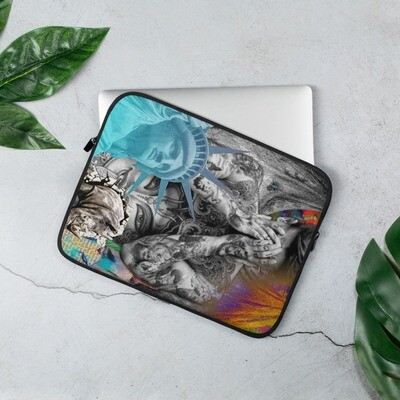 Cool Graffiti Laptop Sleeve for Back to school Art Class