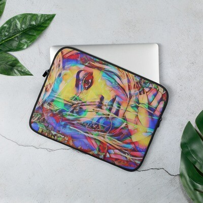 Laptop Sleeve with Rad designed Graffiti Art