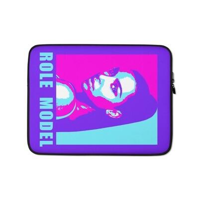 Kim Kardashian Purple Pink Laptop Sleeve