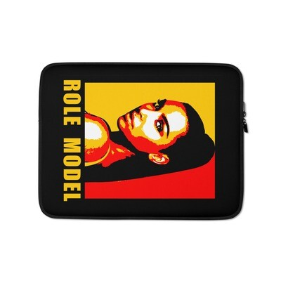 Kim Kardashian Black & Yellow Laptop Sleeve