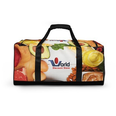 The World Discount Store Fruit Store Duffle bag