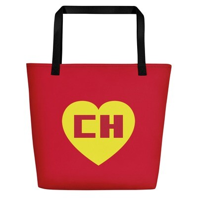Chapulin Colorado Red Shield Beach Bag