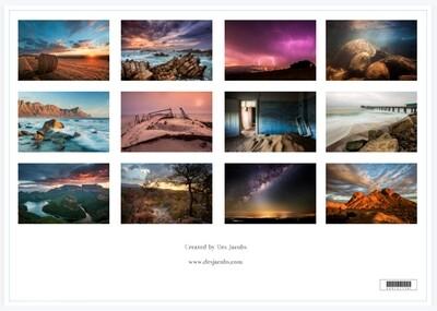 A3 Landscape Format Calendar - 2022
