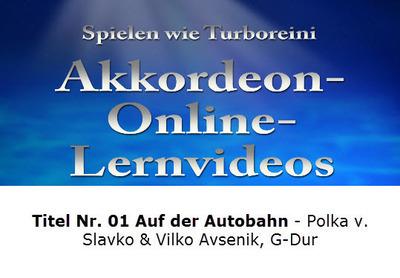 Akkordeon-Lernvideo Nr. 01 Auf der Autobahn