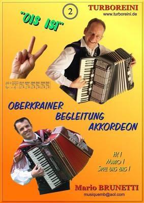 Oberkrainer-Begleitung Akkordeon-Noten kostenlos, Ausgabe 2 (Polka)