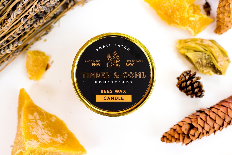 100% Organic Beeswax Blend Candle - Santa Monica